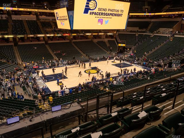 Bankers Life Fieldhouse Section 106 view