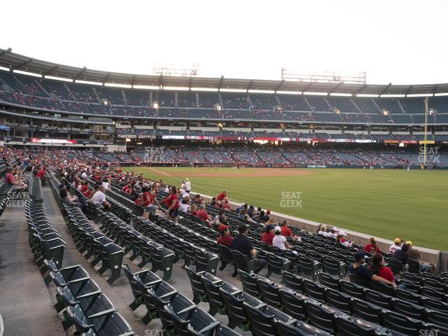 Angel Stadium of Anaheim Section 132 view