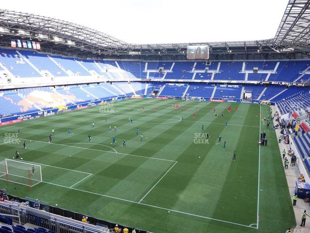 Red Bull Arena Section 216 view