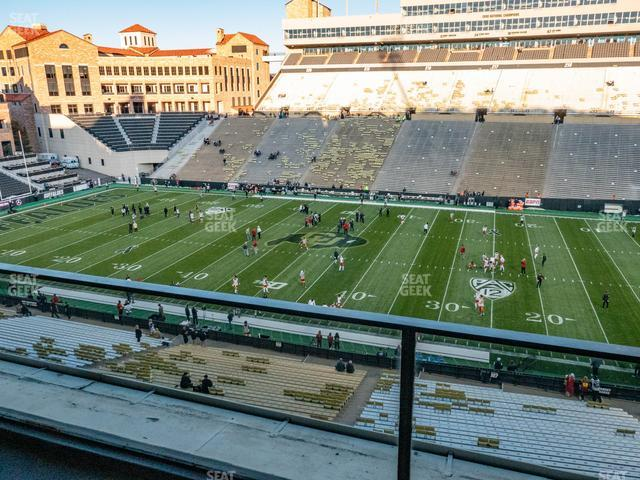 Folsom Field Section 402 view