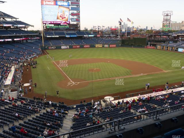 Citizens Bank Park Section 219 view