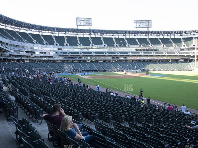 Guaranteed Rate Field Section 110 view