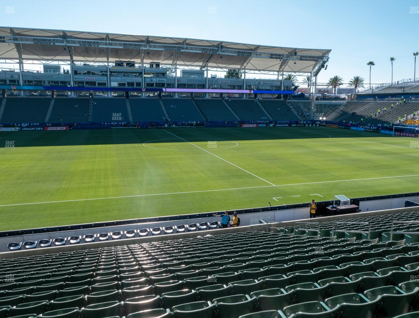 Dignity Health Sports Park Section 133 Seat Views | SeatGeek