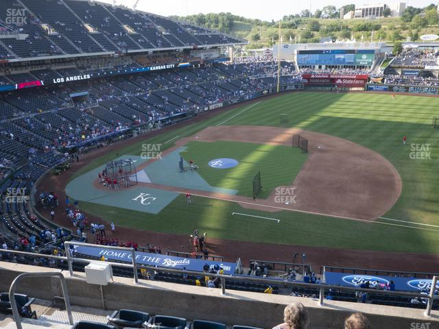 Kauffman Stadium Section 430 view