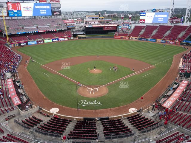 Great American Ball Park Section 424 view