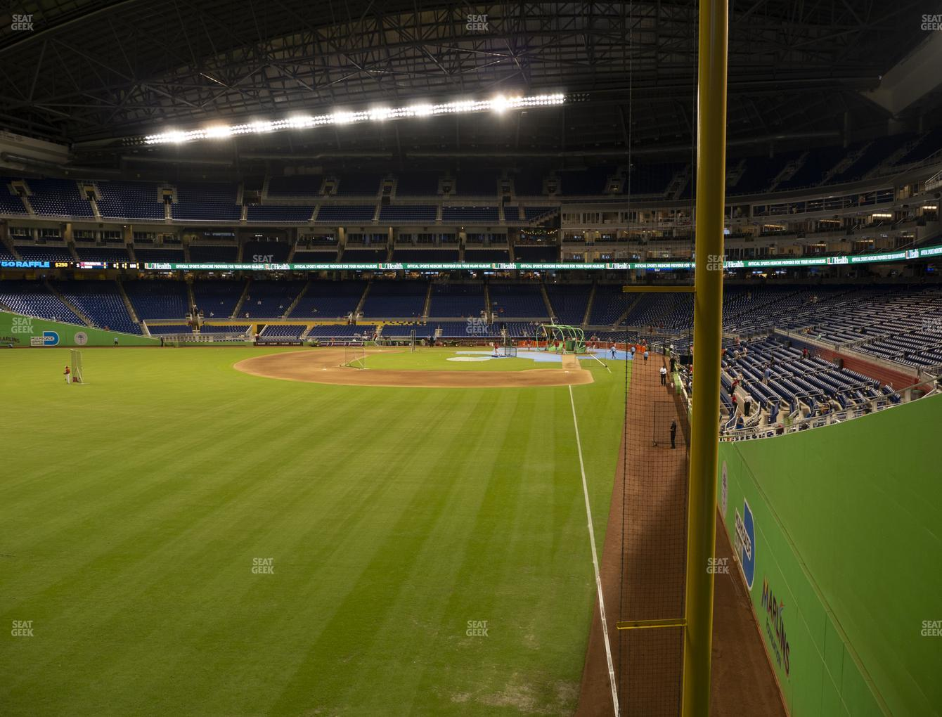 Miami Marlins at Marlins Park Section 29 View