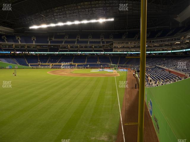 Marlins Park Section 29 view