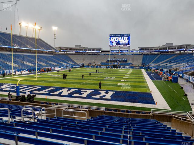 Kroger Field Section 18 view