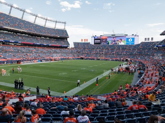 Empower FIeld at Mile High Section 111 view