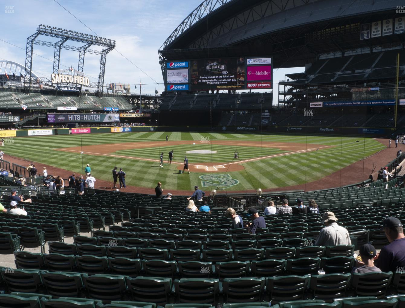 T-Mobile Park Section 131 Seat Views | SeatGeek