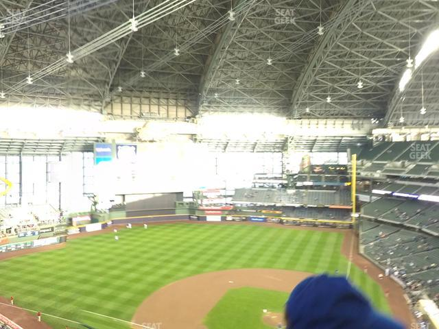 Miller Park Section 426 view