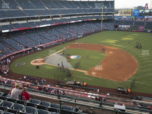 Angel Stadium of Anaheim Section 426 view