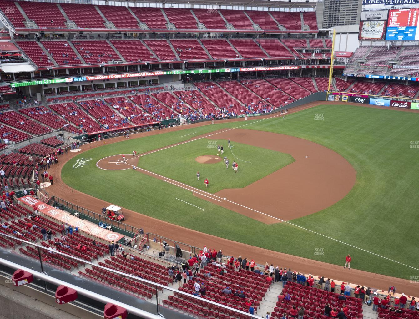 Cincinnati Reds at Great American Ball Park Section 433 View