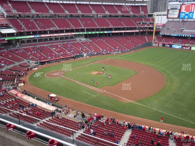 Great American Ball Park Section 433 view