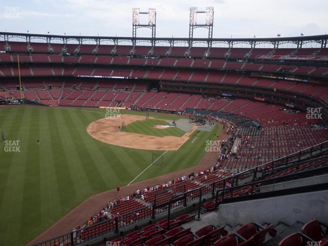 Busch Stadium Left Field Pavilion 368 view