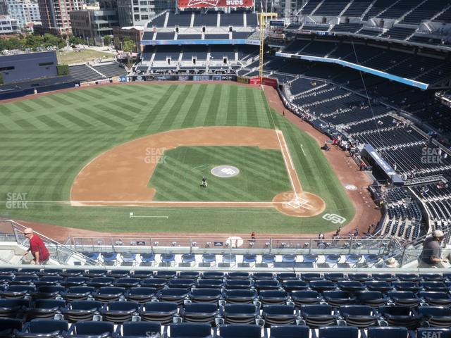 Petco Park Section 310 view