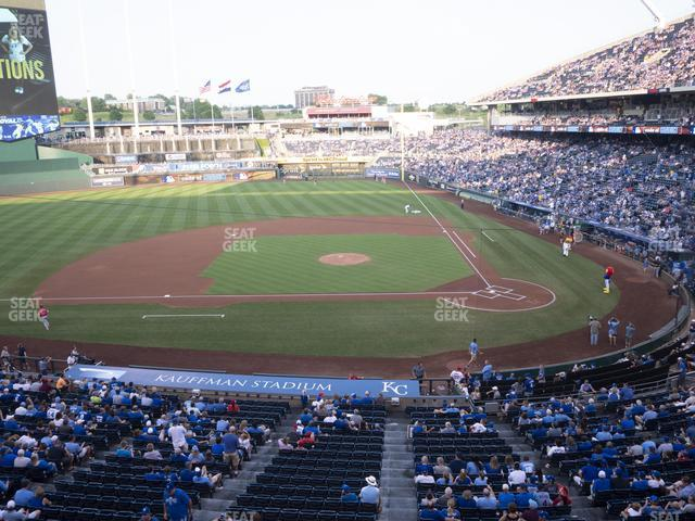 Kauffman Stadium Section 309 view