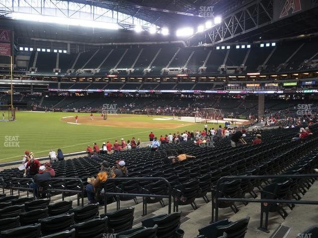 Chase Field Section 134 view