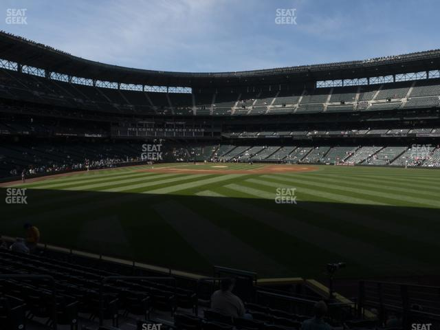 T-Mobile Park Section 105 view