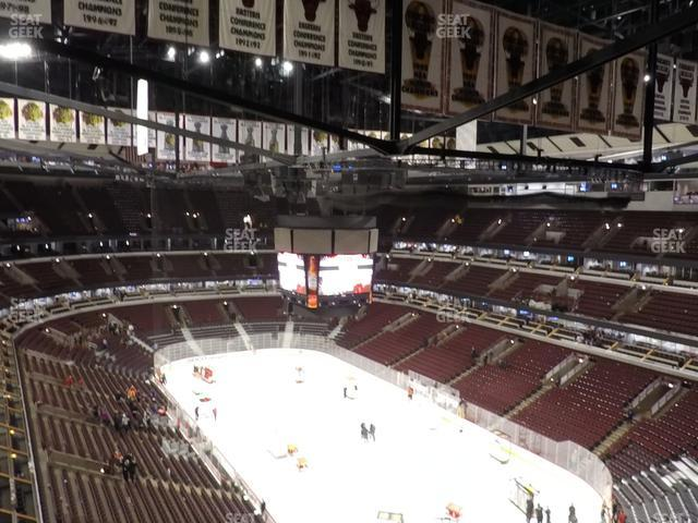 United Center Section 329 view