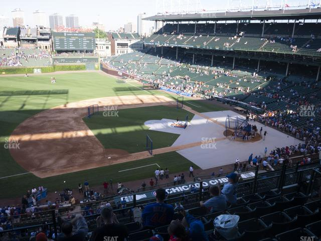 Wrigley Field Section 309 Left view
