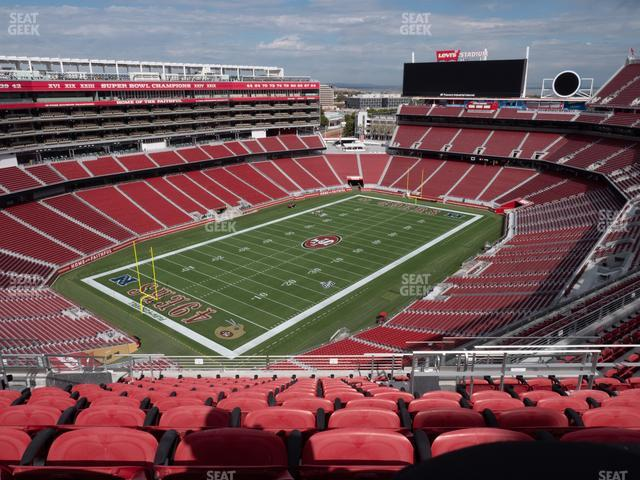 Levi's Stadium Section 419 view