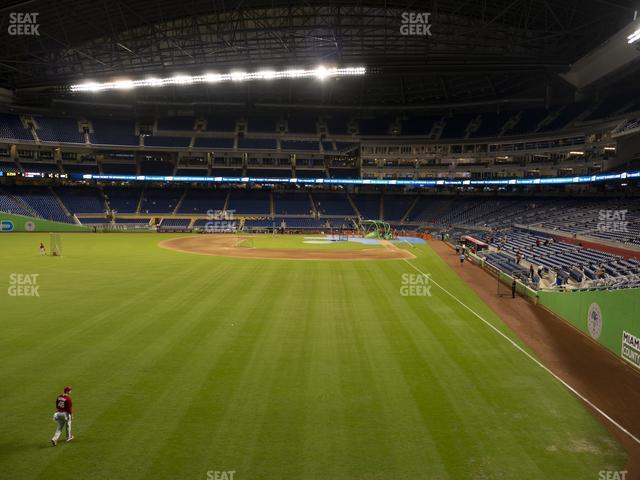 Marlins Park Section 30 view