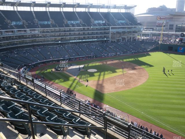 Progressive Field Section 429 view