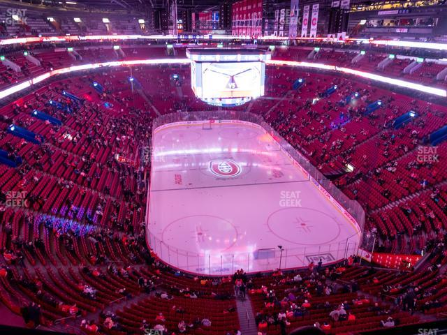 Bell Centre Section 329 view