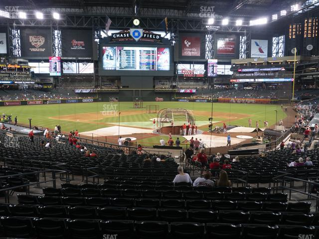 Chase Field Section 123 view