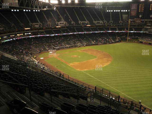 Chase Field Section 303 view