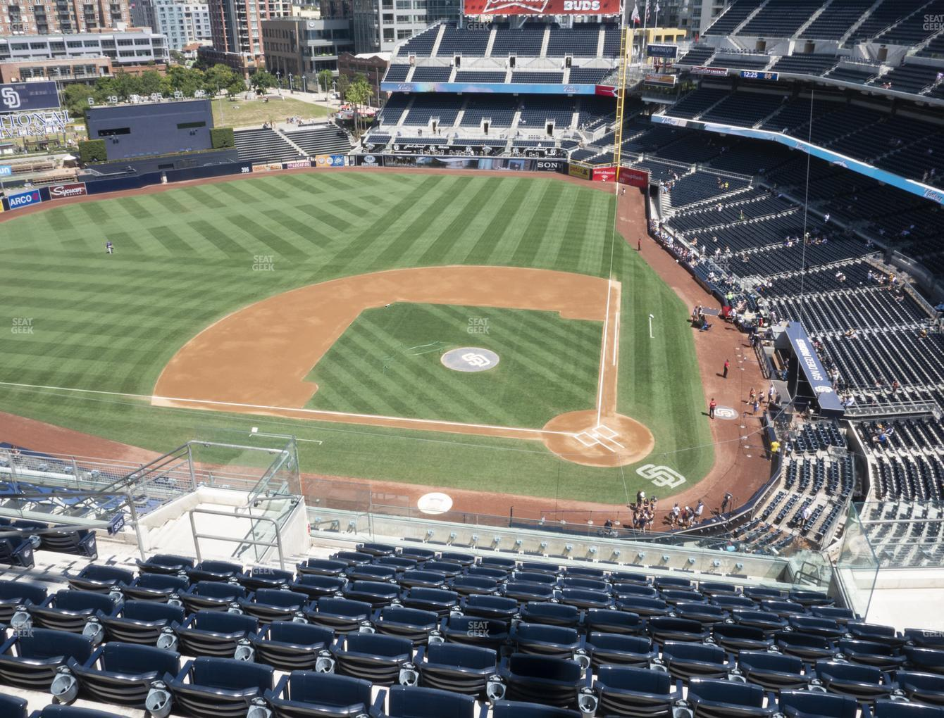 San Diego Padres at Petco Park Section 308 View