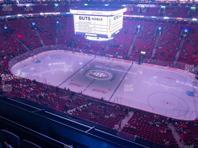 Bell Centre Section 335 view