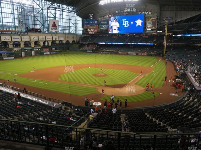 Minute Maid Park Section 217 view