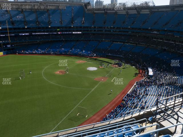 Rogers Centre Section 537 L view
