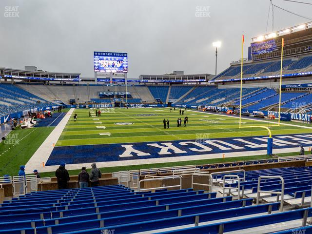 Kroger Field Section 14 view