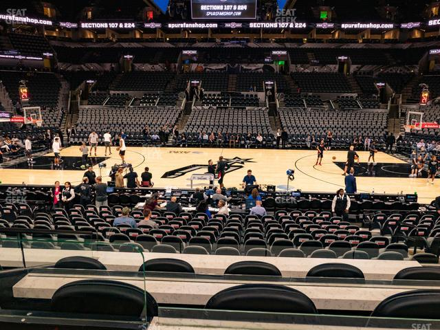 AT&T Center Box 12 view