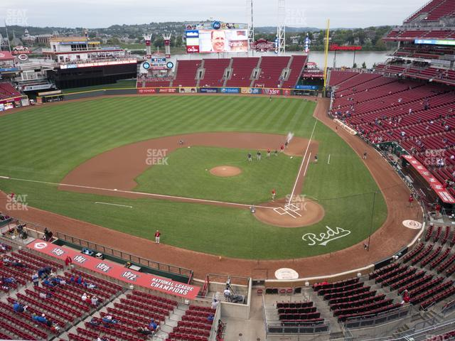 Great American Ball Park Section 420 view