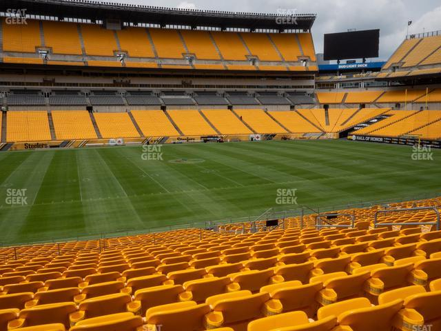 Heinz Field Section 109 view