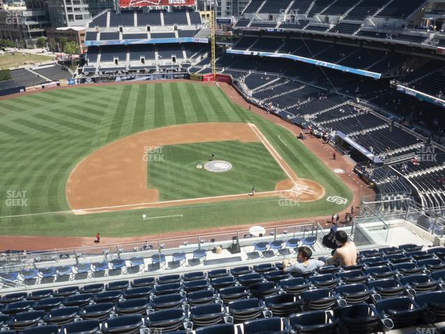 Petco Park Section 312 view