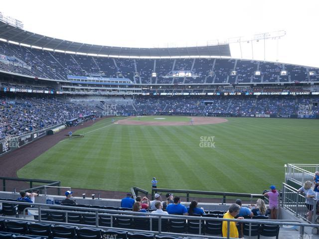 Kauffman Stadium Section 252 view