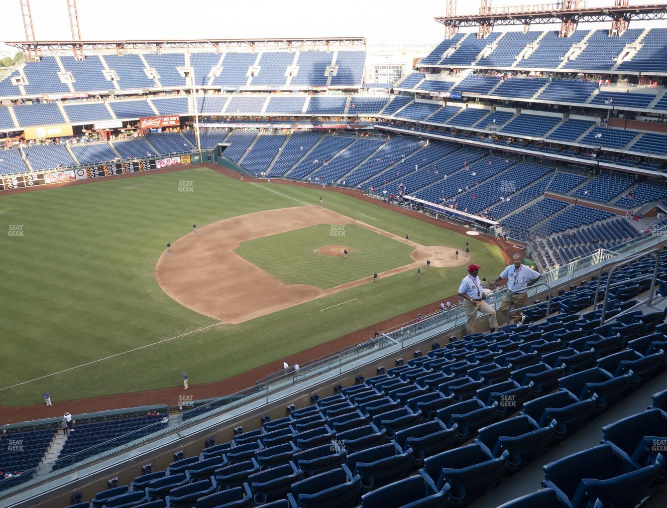 Philadelphia Phillies at Citizens Bank Park Section 429 View