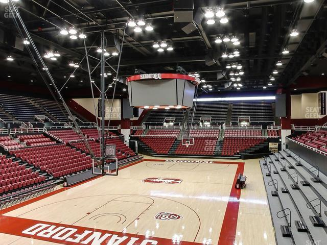 Maples Pavilion Section 8 view