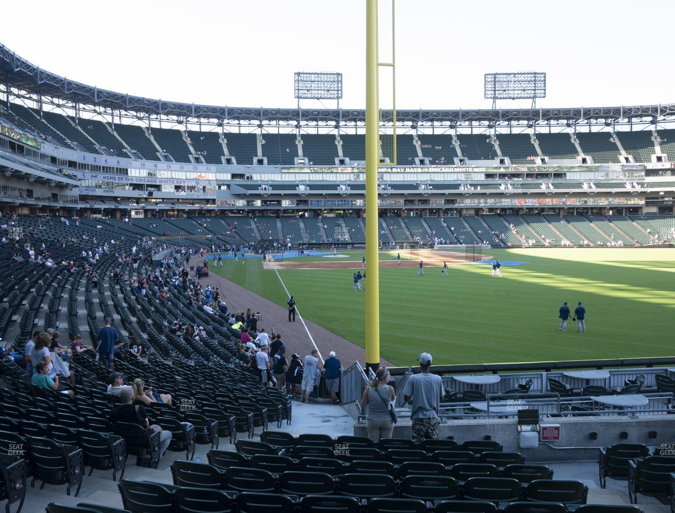 Chicago White Sox at Guaranteed Rate Field Section 108 View