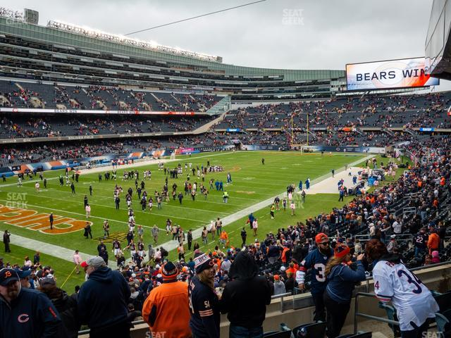 Soldier Field Section 246 view