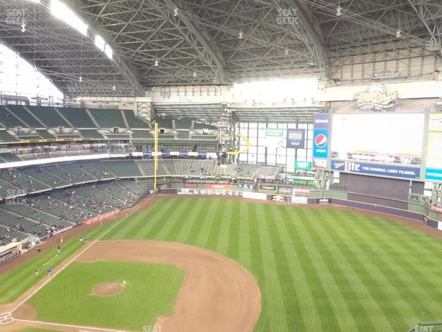 Miller Park Section 414 view