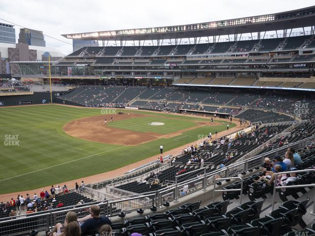 Target Field Section Deck T view