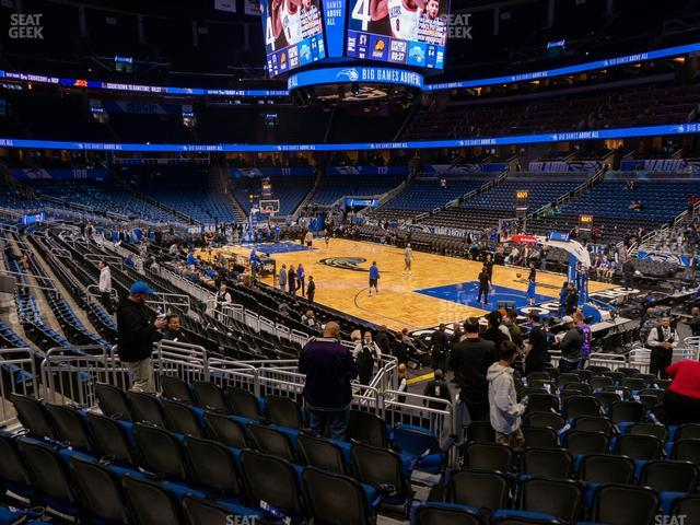 Amway Center Section 103 view