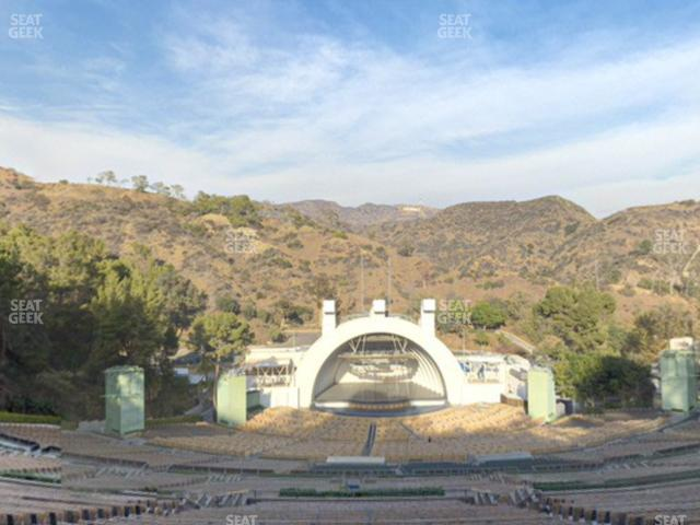 Hollywood Bowl Section W 1 view