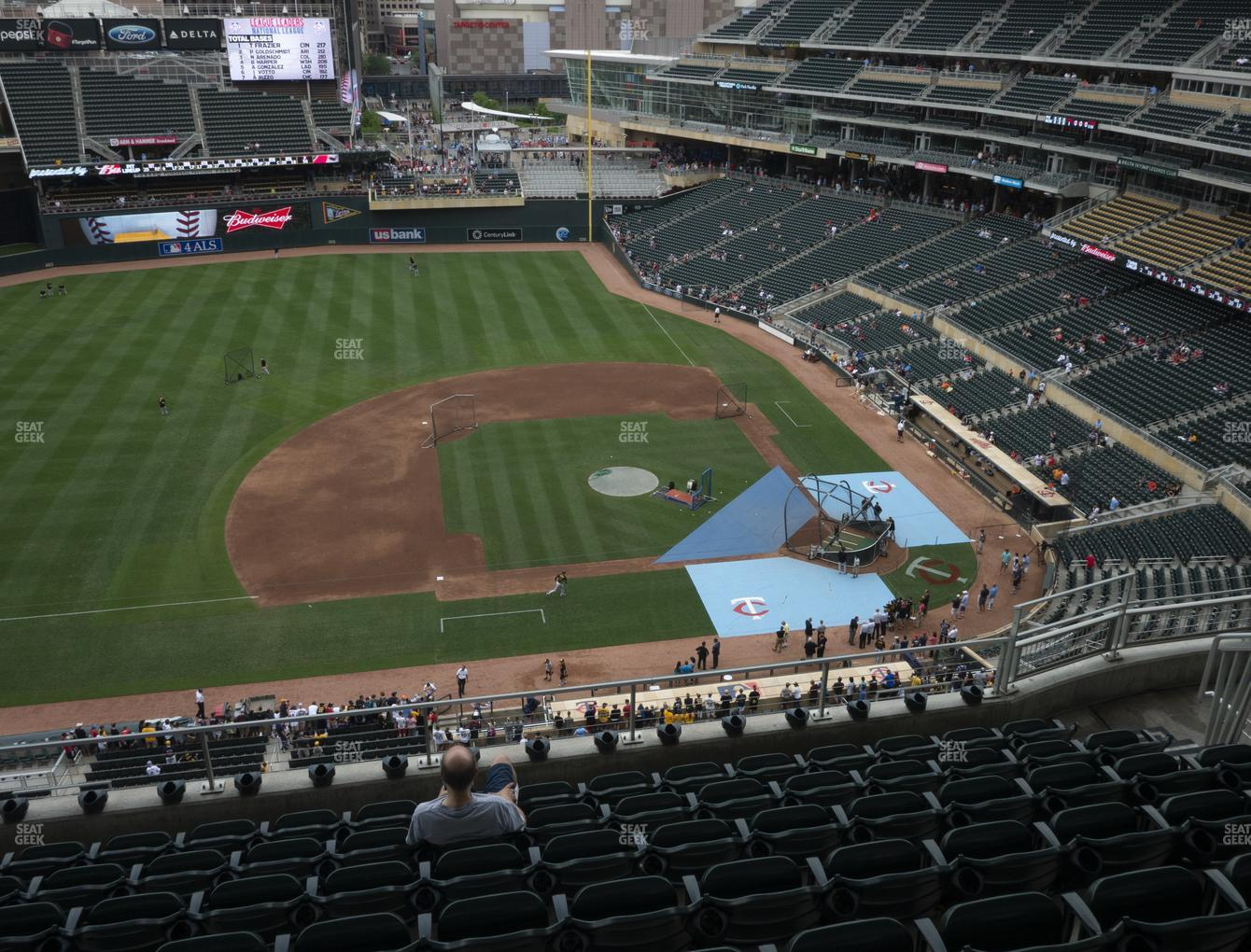 Minnesota Twins at Target Field Section 321 View
